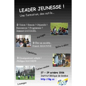 Formation Leaders Jeunesse 2006